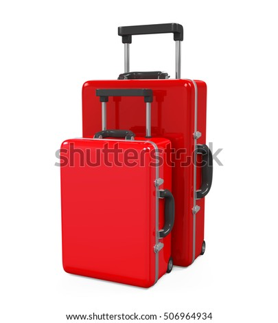 Travel Luggage. 3D rendering