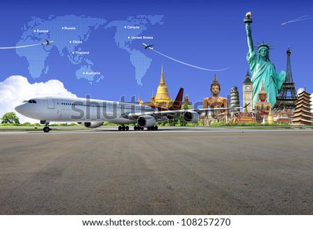 Travel the world - stock photo