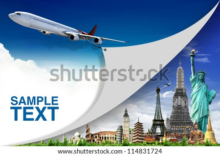 Travel the world concept - stock photo