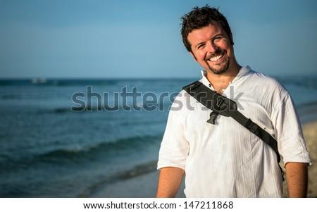 Travel to paradise - stock photo