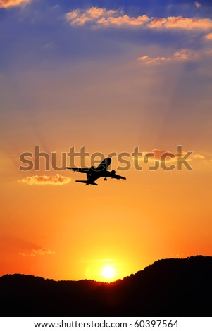 traveling in the mountains - stock photo