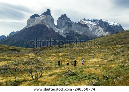 Traveling south america - stock photo