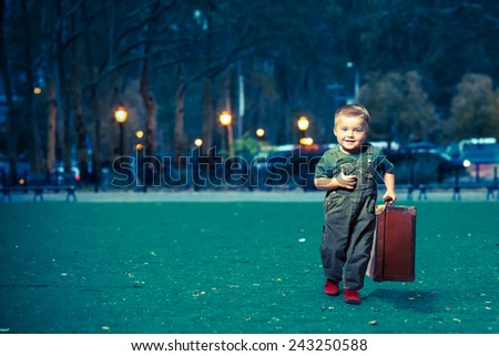 TRAVELLER - stock photo