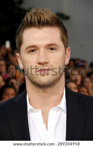 Travis Wall at the Los Angeles premiere of 'Step Up Revolution' held at the Grauman's Chinese Theatre in Hollywood on July 17, 2012.  - stock photo