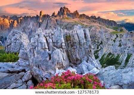 Tre Cime Di Lavaredo Drei Zinnen Stock Photo (Edit Now) 127578173 ...
