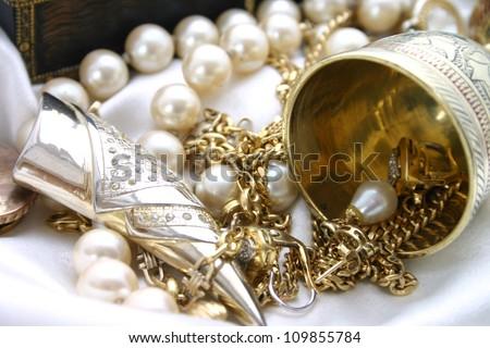 Treasure - stock photo