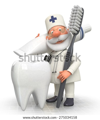 treatment of teeth necessary procedure of the dentist/doctor dentist - stock photo