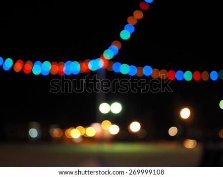 Tree colored circles - stock photo