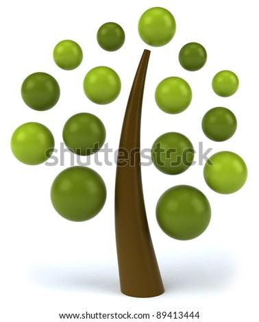 Tree concept - stock photo