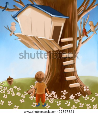 tree house (search the word nikos for more)