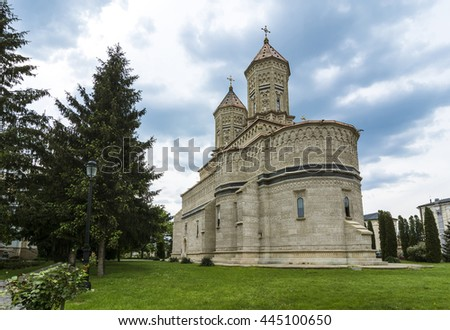 Trei Ierarhi or The Three Holy Hierarhs, monastery Iasi. Is dating from the XVIIth century, built during Vasile Lupu's reign.