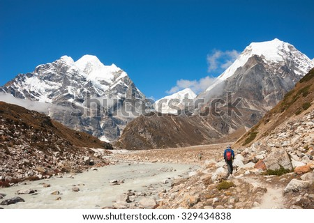 Trekking to Makalu base camp, Nepal