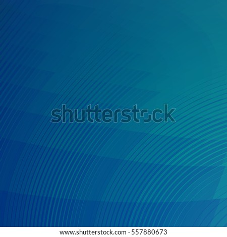 Trending Digital Blue with Curved Lines - High resolution illustration for graphic design or background use.