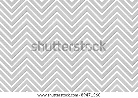 Trendy chevron patterned background G&W textured - stock photo