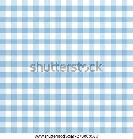 Trendy vichy pattern - checkered seamless background - stock photo