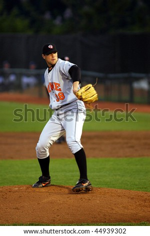 TRENTON, NJ - MAY 11: Bowie Baysox pitcher James (Jim) Johnson pitching during a May 11, 2006 Eastern League game in Trenton, NJ.