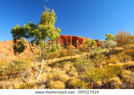 Trephina Gorge, Australia - stock photo