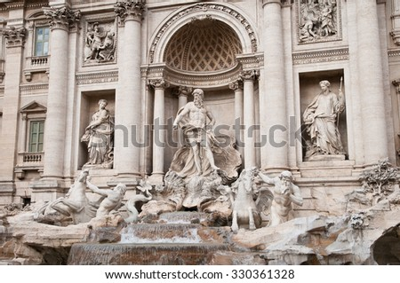 Trevi Fountain (particular)