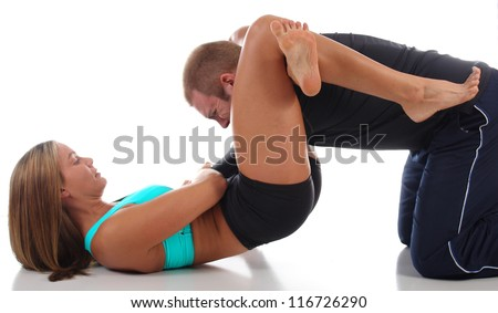 Triangle Choke for the Win - stock photo