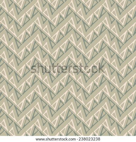 Triangle contour chevron neutral background. Seamless pattern.  - stock photo