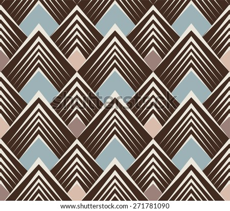 Triangle Pattern - stock photo