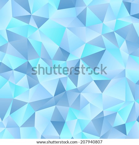 Triangles pattern. Abstract geometric background.