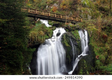 triberg in the black forest Germany - stock photo