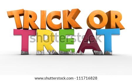 Trick or Treat - stock photo