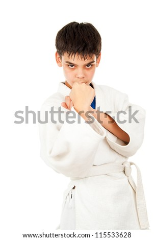 tricks guy in class struggle - stock photo