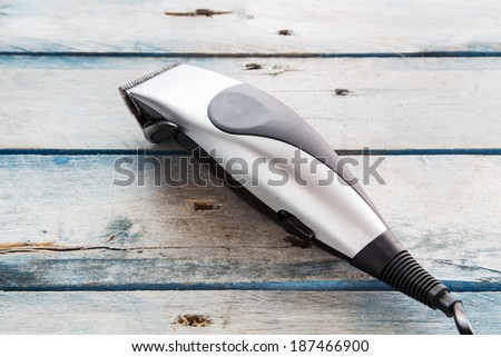 Trimmer - stock photo