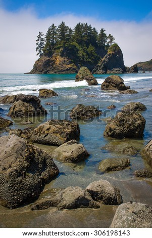 Trinidad State Beach in Humboldt County, California
