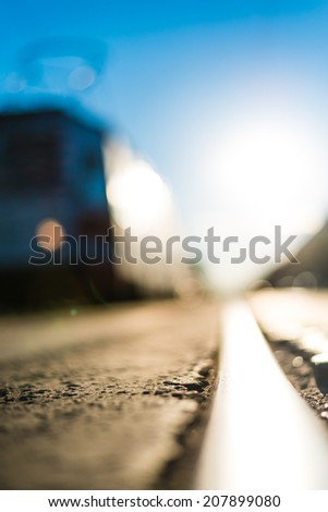 Trip in the city - stock photo