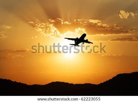 trip to the sun - stock photo