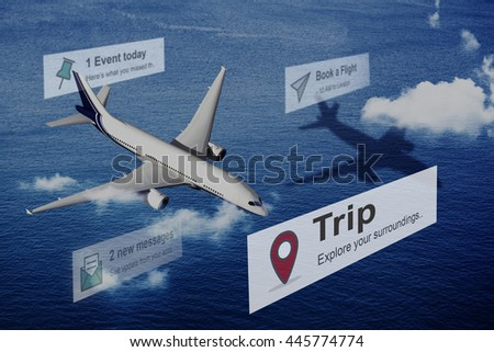 Trip Vacation Holiday Adventure Travel Exploration Concept - stock photo