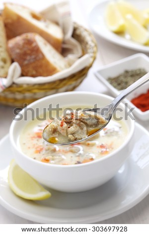 tripe soup, iskembe corbasi, turkish traditional hangover cure