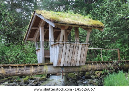 Troll Bridge at Sandy Beach Park Petersburg Alaska