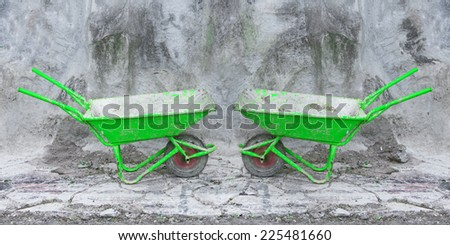 Trolley for Construction - stock photo