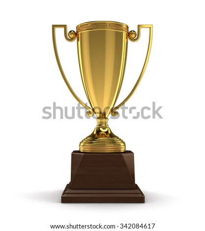 Trophy Cup (clipping path included)