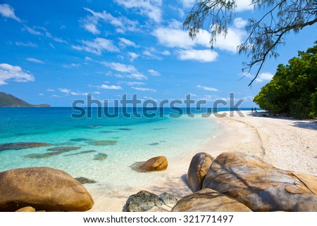 tropical beach - Australia