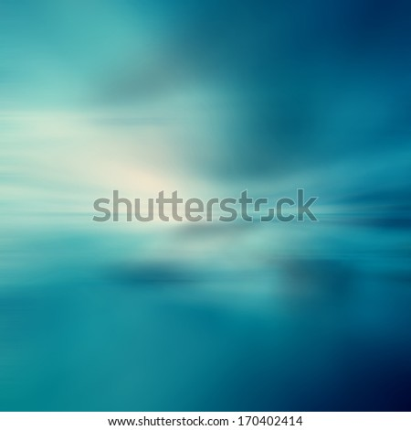 Tropical horizon abstract background - stock photo