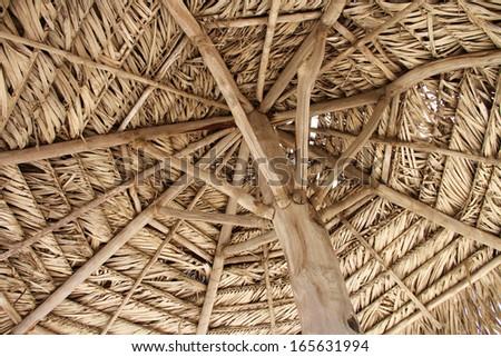 Tropical Palapa - stock photo