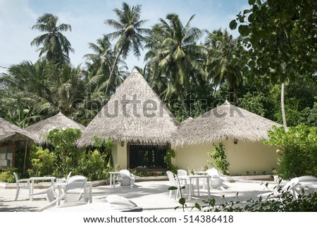 Tropical restaurant resort