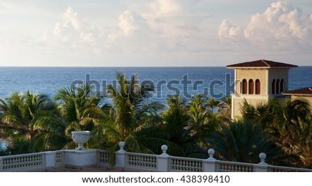 Tropical Sunshine  - stock photo