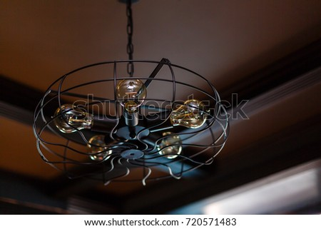 Tropical wooden colonial style ceiling fan stock photo 720571483 tropical wooden colonial style ceiling fan aloadofball Image collections