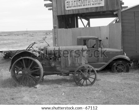 Truck-n-Tractor - stock photo