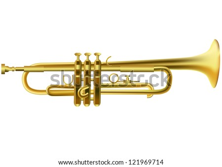 an introductionto the revolutionary instrument the trumpet Introduction this noble instrument is constructed of brass tubing which has been shaped into a rough spiral and although the bore of the trumpet is roughly cylindrical, it could be more accurately described as a complex series of tapers, smaller near the mouth piece and larger when approaching the flair of the bell.