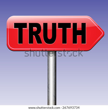 truth be honest honesty leads a long way find justice law and order road sign arrow  - stock photo