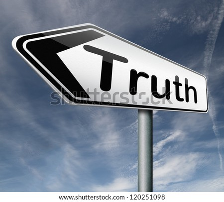 truth be honest honesty leads a long way find justice truth button icon arrow search truth - stock photo