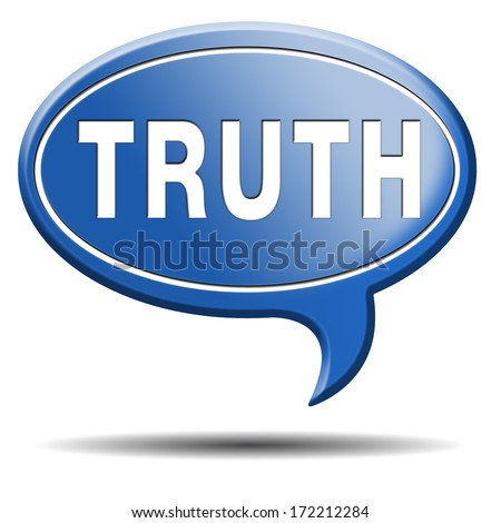 truth be honest honesty leads a long way find justice truth button icon search truth - stock photo