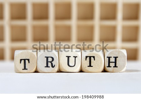 truth word concept